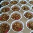 高校の文化祭、PTAで豚丼を作りました
