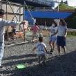 2年目の子ども見守り活動(只越地区)