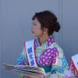 有明海花火フェスタ  観光柳川キャンペーンレディ水の精・古賀美紅  2018・8・26