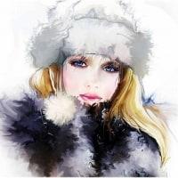 冬の女 2