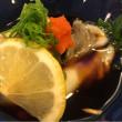 酢牡蠣を食べる