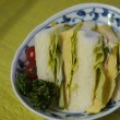 だし巻き卵のサンドイッチ