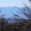 長野県佐久市の東端にある佐久荒船高原は、いくらか冠雪し、初冬の様相です