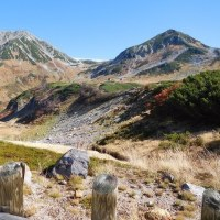 紅葉の立山トレッキング
