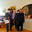 川島旅館で会議