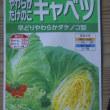 「土用豆」・「みさき」を蒔種