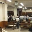 扇町教会礼拝堂での最終練習
