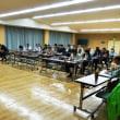生坂村常会長会議と安曇野交通安全協会生坂支部定期総会