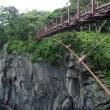 伊豆の旅2「城ヶ崎つり橋」