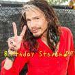 ★Happy Birthday ♪Steven Tyler 71th★