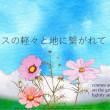 ●挿絵俳句349・コスモスの・透次363・2017-9-23(木)
