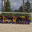 2017年度 嵯峨野高校サッカー部夏季OB戦の様子