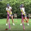ゴルフスイングの検討・・・左足の地面反力を利用