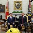 トランプ大統領、米韓首脳会談で米朝会談見送りの可能性言及!