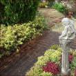 子守熊と秋色ガーデン