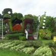 フラワーパークのトピアリー、花 🌺 浜松の想い出