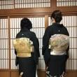 30.11.10出張着付は堺市美原区、スタッフさんのご親戚の結婚式、着付けとヘアセットのご依頼でした。