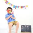 【チビ助3歳の記念写真】