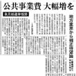 補正予算  日刊建設工業新聞