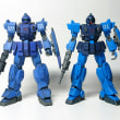 完成【HGUC 1/144 機動戦士ガンダム外伝戦慄のブルー ブルーディスティニー1号機】
