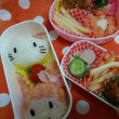 キティ&マイメロお弁当