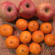 リンゴ、ミカン、柚子、ハッサクなど(頂きものも)