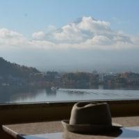 富士山を眺める旅、河口湖から山中湖を越えてミステイク