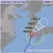 台風7号 ( 7月 3日正午現在)