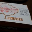 ルマンのサンドイッチでお昼