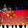 人民解放軍 建軍90周年 大型雑技ショー 《渡江侦察记》