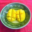 マンゴー栽培農家のお友達、山城さんから頂いた,美味しいマンゴー(*^_^*)