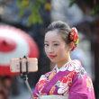 京都祇園でのクラブ撮影