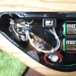 新しいベースの電池交換