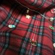 100均フリース&グッズ(缶バッジ除く)、クリスマス用衣装こんな感じで出来上がり惚・:*(〃Д〃人)*:・惚