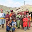草原の国モンゴル紀行②・・・アルドゥラーンの遊牧地のゲルの風景