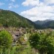 春の茅葺の里  京都府南丹市美山町北 重要伝統的建造物群保存地区