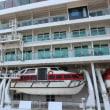 客船・クルーズ 神奈川県横浜市大桟橋 ノルウェージャン・ジュエル(3)船尾から船腹