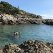 Swimming in the sea 💕