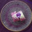 紫白菜の漬物・冬の和食