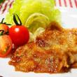 ♪豚肉のしょうが焼き&マカロニサラダ♪