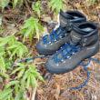 山靴の感触