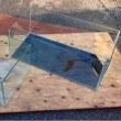 中古 オールガラス水槽