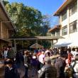 藤城学区、餅つき大会。