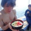 楽しいねぇ~!海の世界っ(≧▽≦)❤❤