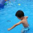 アリオ柏で水遊び。