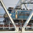 EF66-30赤川鉄橋渡る