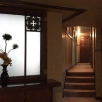 旧山邑家住宅(ヨドコウ迎賓館)。F.L.ライト設計。