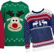 クリスマス・ジャンパー、ジャンパー(セーター)に限らずご紹介、クリスマスらしい図柄の食べ物一覧