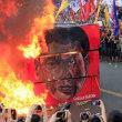 フィリピンで大規模デモ ドゥテルテ氏「独裁主義」に抗議