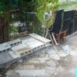 メダカのプラ水槽設置